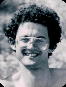 Una foto di Rudy a 26 anni